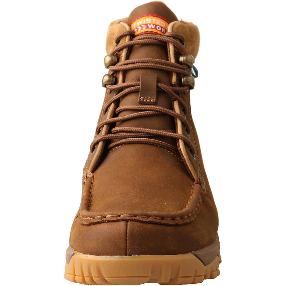 WXCW001 Twisted X Women's CellStretch WP Safety Boots - Saddle