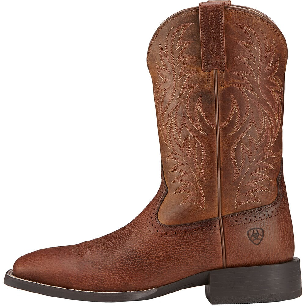 Ariat Men's Sport Western Boots - Fiddle Brown