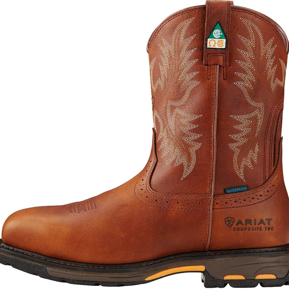 Ariat Men's Workhog H2O CSA Safety Boots - Dark Copper