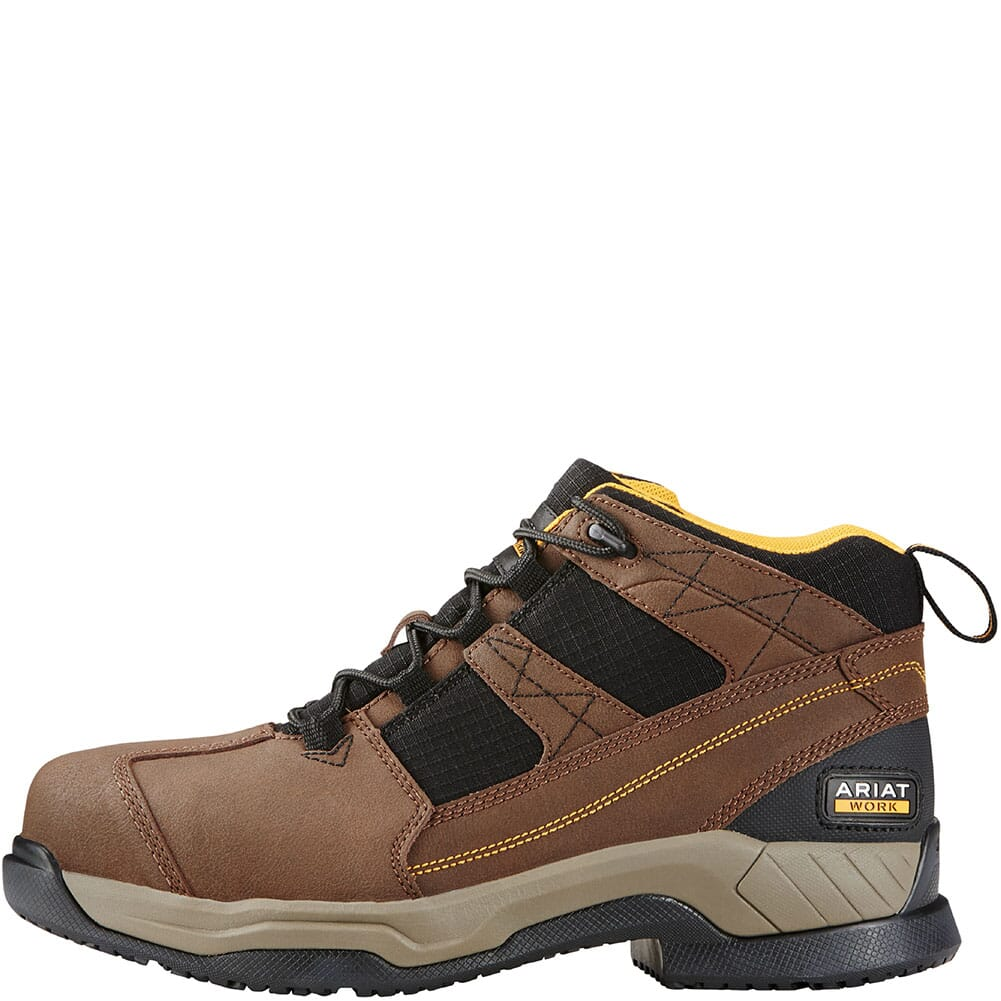 Ariat Men's Contender Safety Boots - Brown