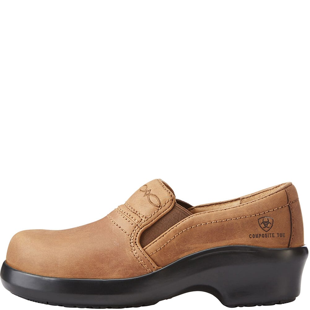 Ariat Men's Rebar Wedge Safety Boots - Golden Grizzly