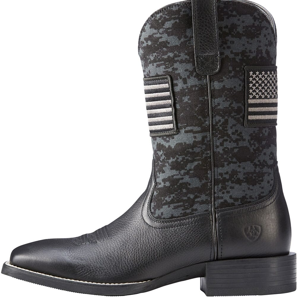 Ariat Men's Sport Patriot Western Boots - Black