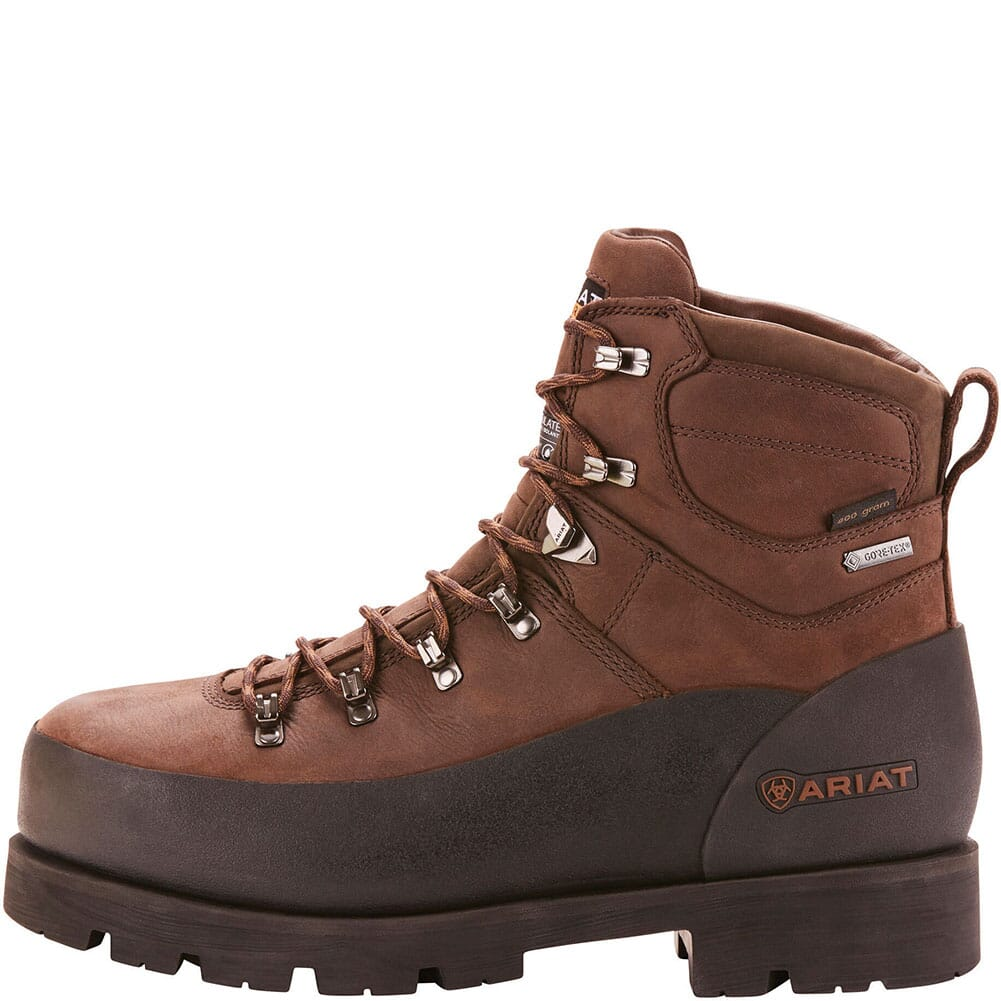 Ariat Men's Linesman Ridge Insulated Safety Boots - Bitter Brown