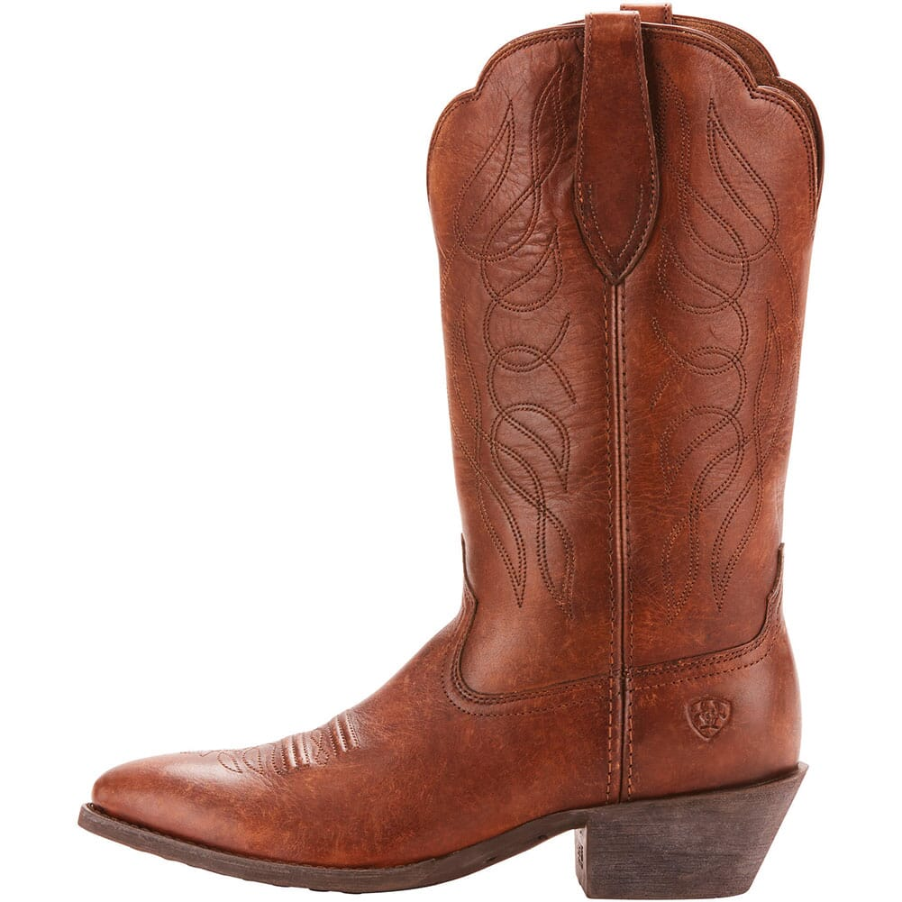 Ariat Women's Heritage Western Boots - Distressed Brown