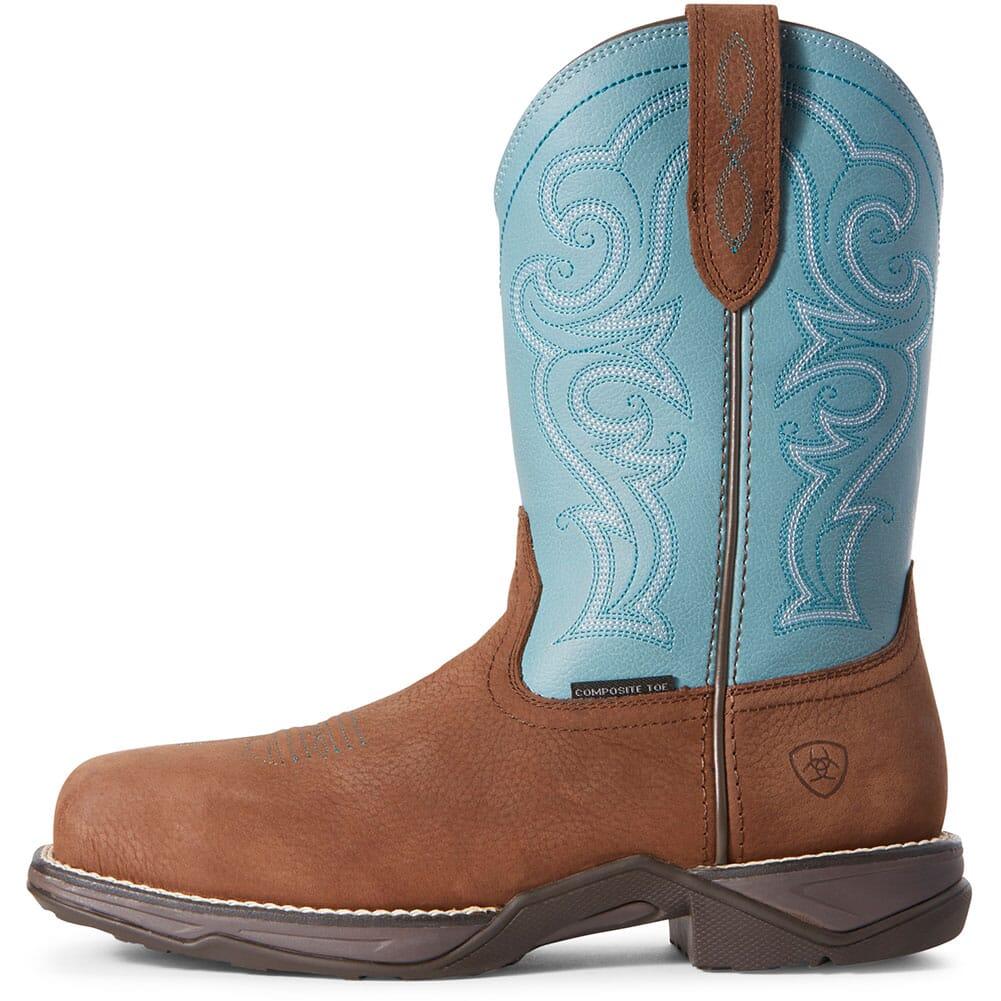 Ariat Women's Anthem Safety Boots - Latigo Brown