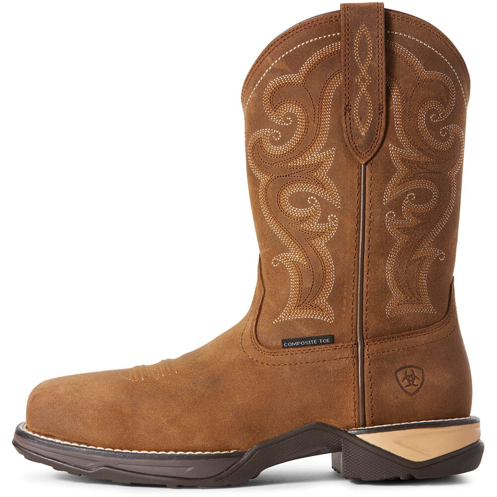 Ariat Women's Anthem Safety Boots - Chipmunk Brown