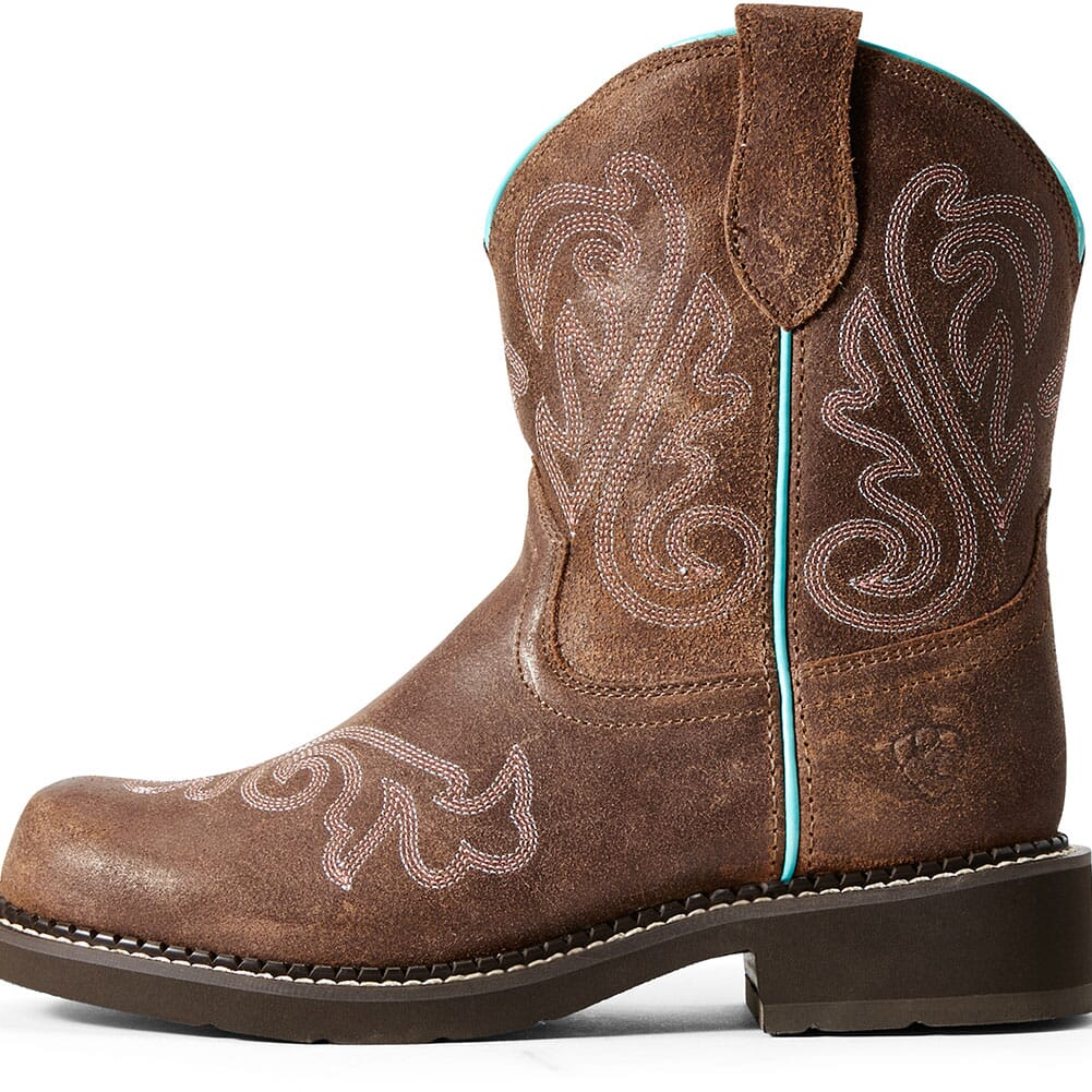 Ariat Women's Anthem Deco Safety Boots - Brown Bomber