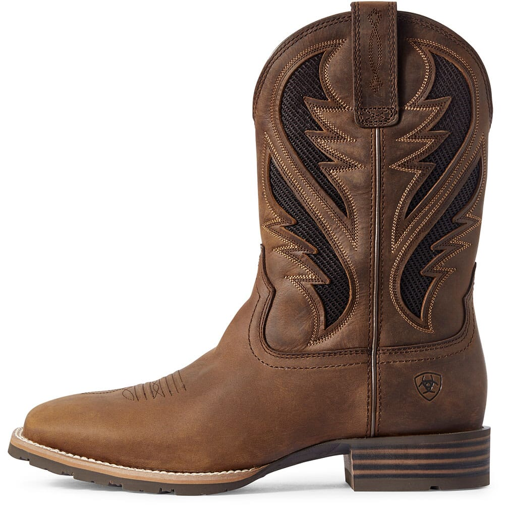 Ariat Men's Relentless Winner's Circle Western Boots - Chocolate Caiman