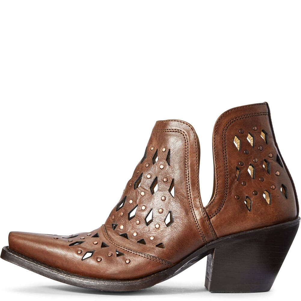Ariat Women's Dixon Studded Western Boots - Amber