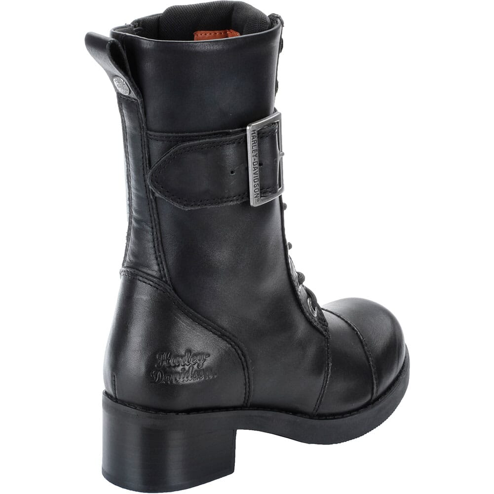 Harley Davidson Women's Jammie Motorcycle Boots - Black