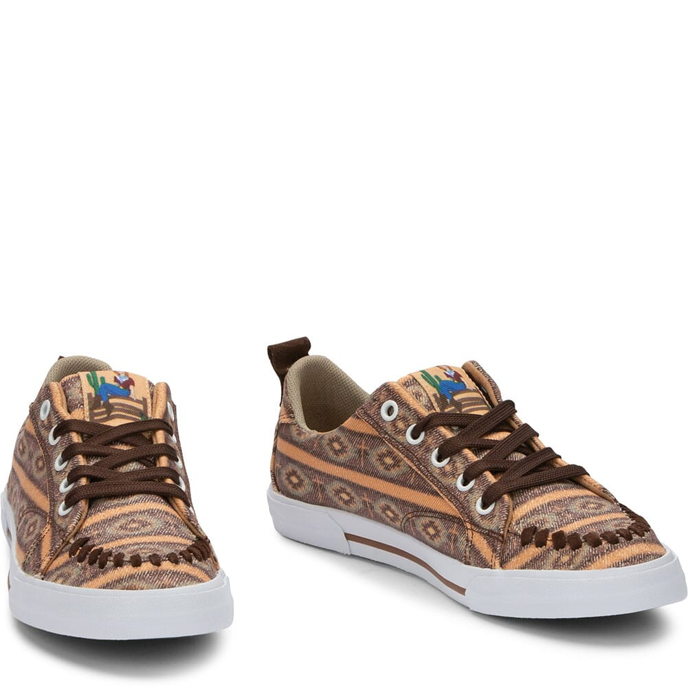 RML058 Justin Women's Arreba Southwest Casual Sneakers - Multicolor