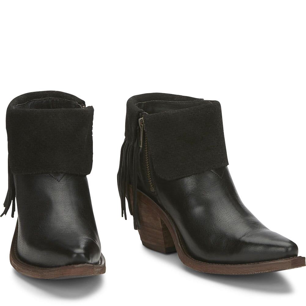 RML106 Justin Women's Hope Casual Boots - Black