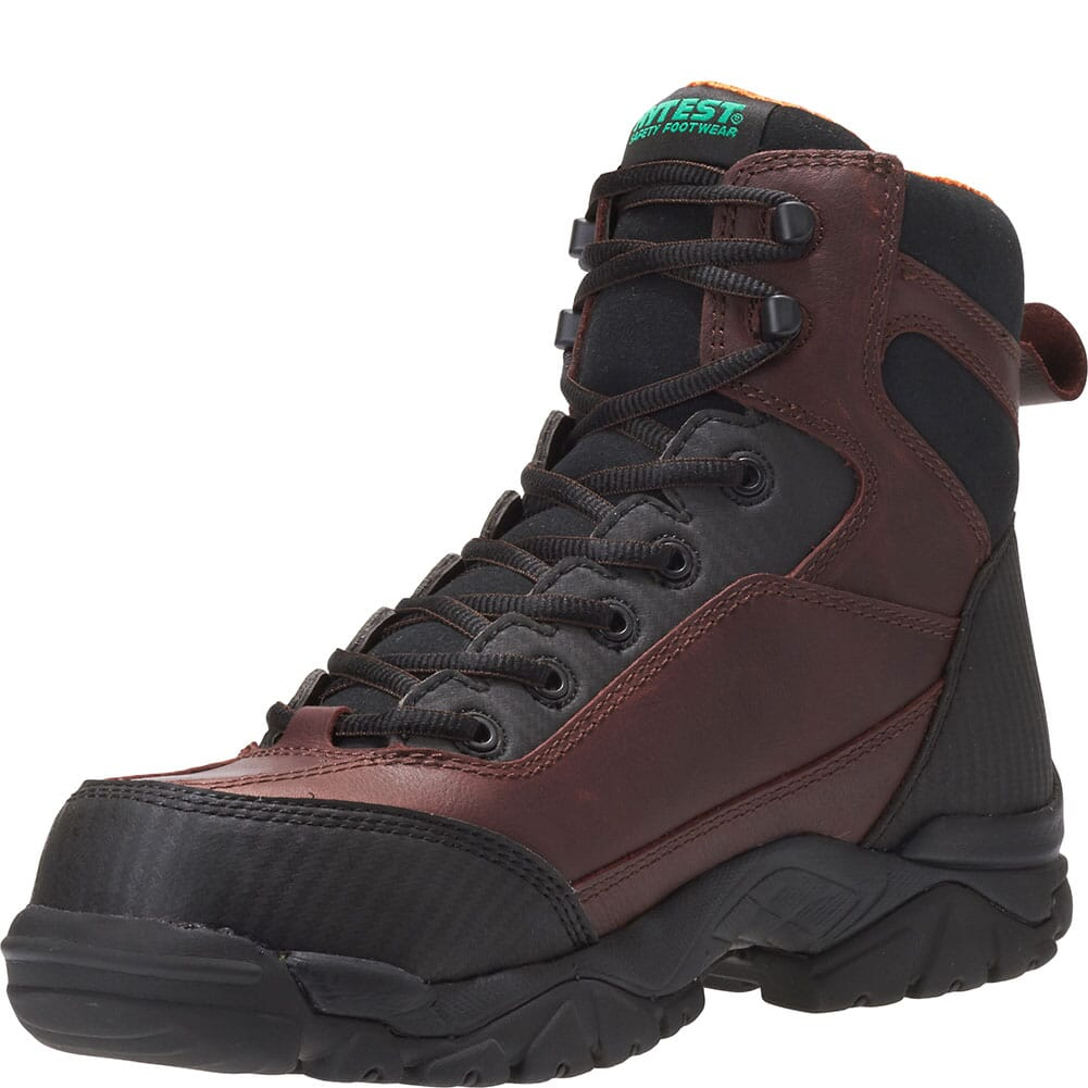 Hytest Men's Apex Waterproof Safety Boots - Brown