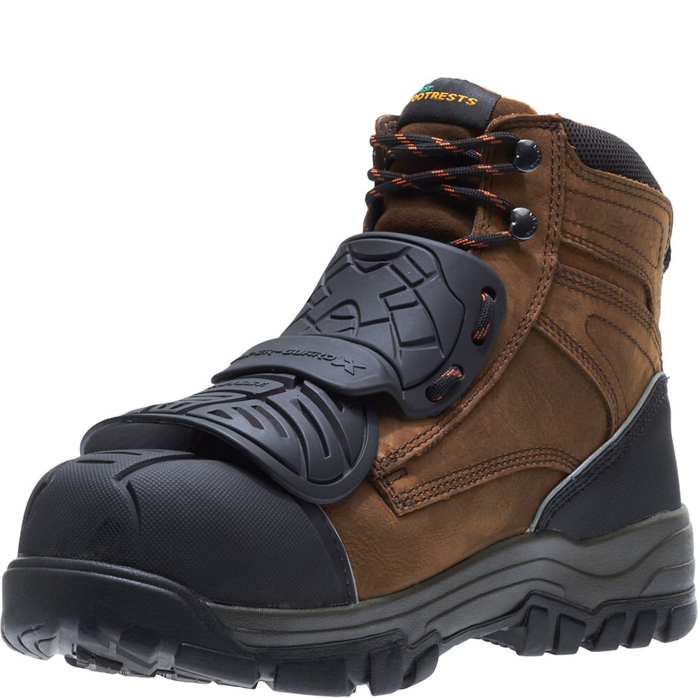 Hytest Men's Footrests High Energy Super-Guard X WP Safety Boots - Brown