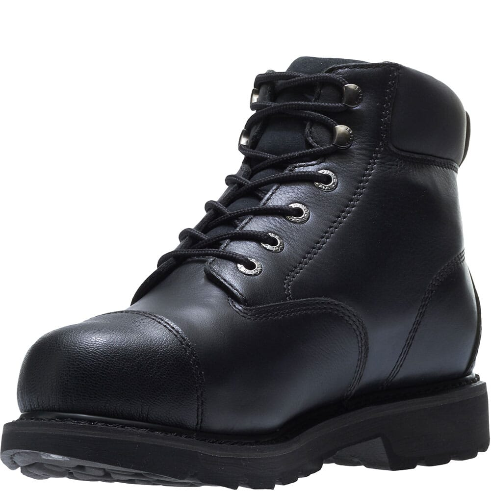 Hytest Men's Brone WP Metatarsal Guard Safety Boots - Black