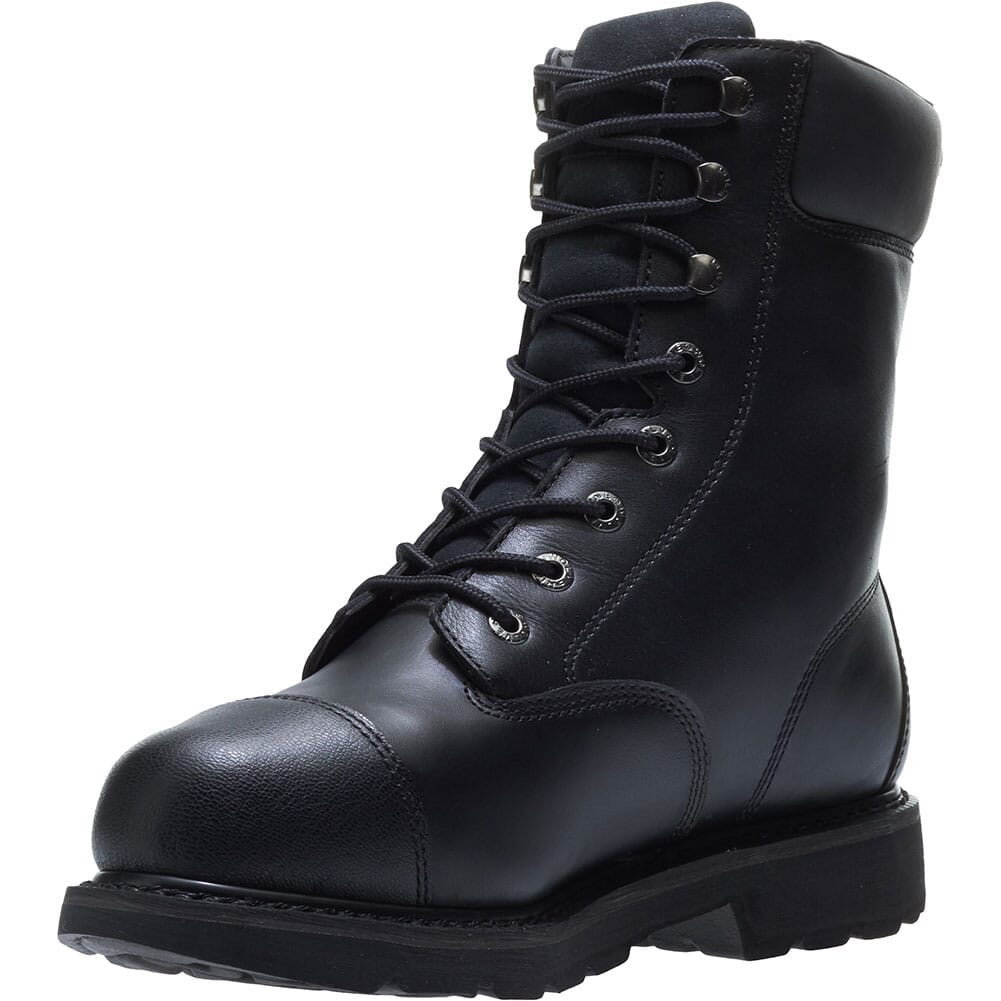 Hytest Men's Brone WP Met Guard Safety Boots - Black
