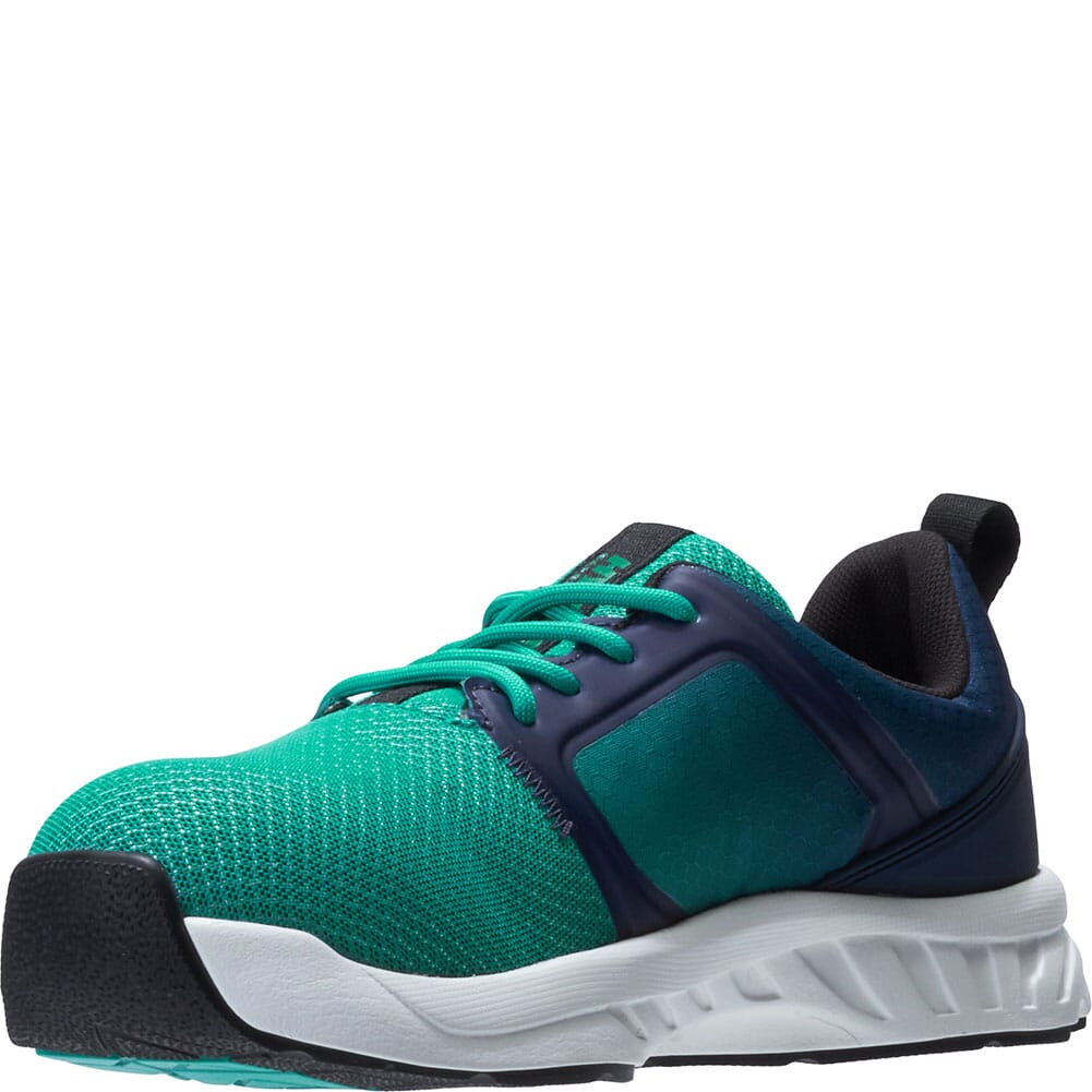 Hytest Women's Alpha XERGY Safety Shoes - Teal Fade