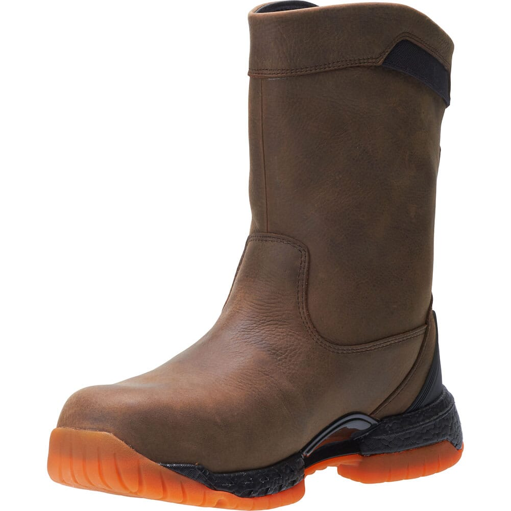 Hytest Men's Footrests 2.0 Crossover Safety Boots - Brown