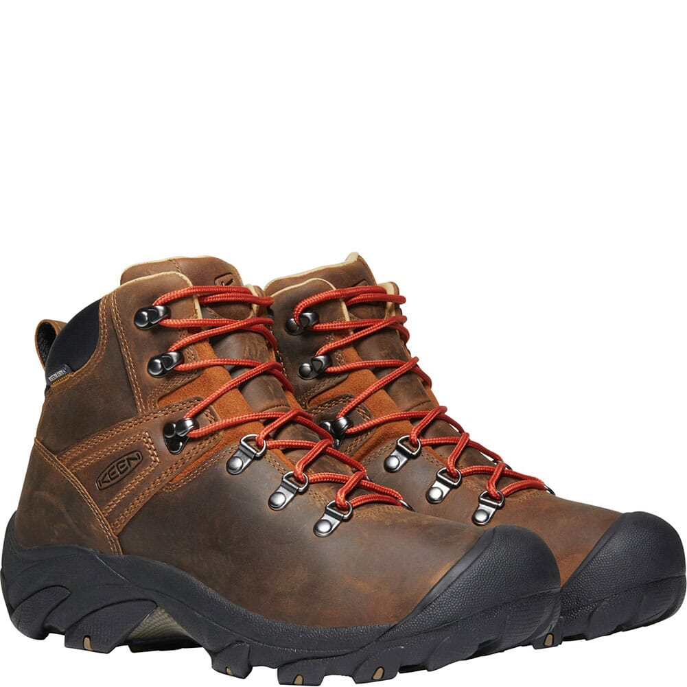 KEEN Men's Pyrenees Hiking Boots - Syrup