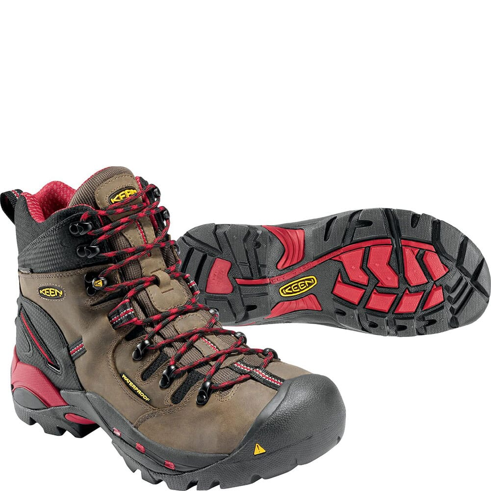 KEEN Utility Men's Pittsburgh Safety Boots - Bison