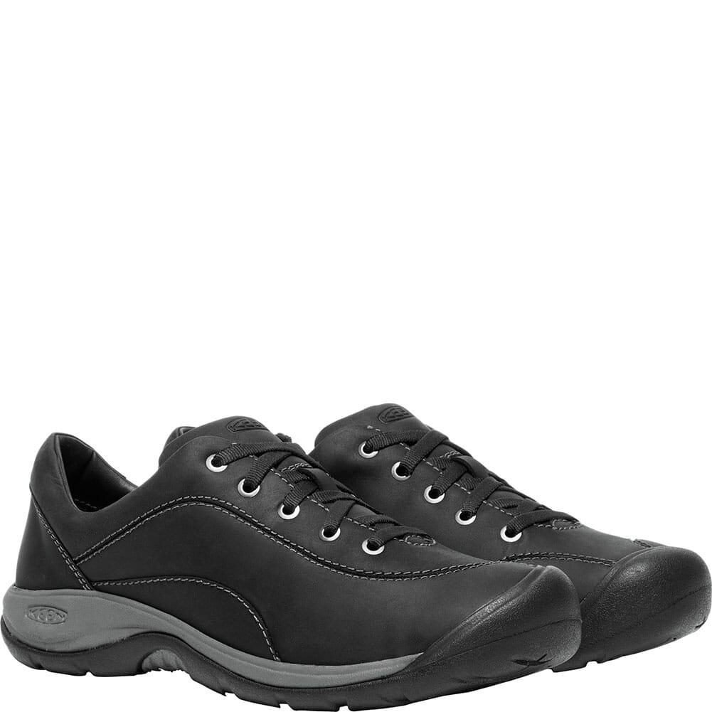 KEEN Women's Presidio II Casual Shoes - Black/Steel Grey
