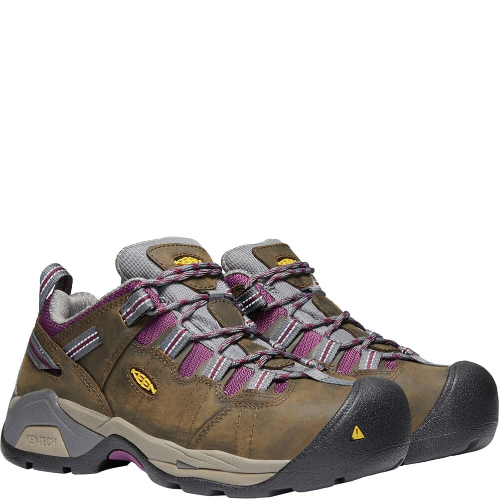 KEEN Utility Women's Detroit XT Safety Shoes - Cascade Brown