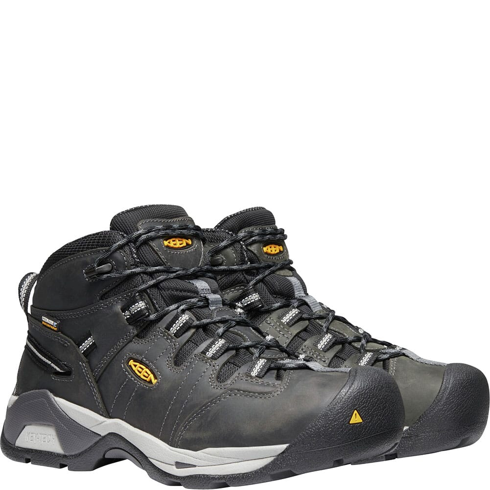 KEEN Utility Men's Detroit XT WP Work Shoes - Magnet