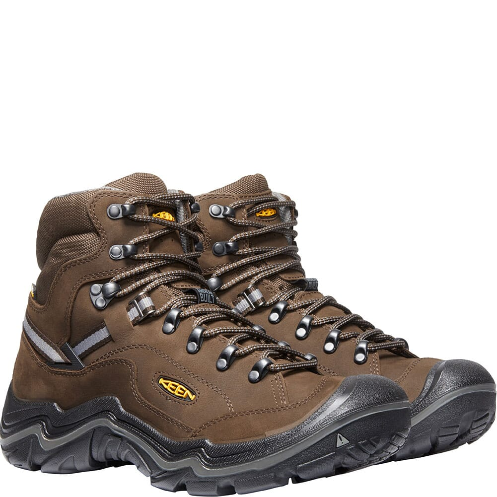 KEEN Men's Durand II Mid WP Wide Hiking Boots - Cascade Brown