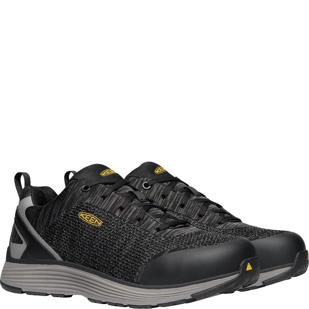 KEEN Utility Men's Sparta Safety Shoes - Black/Grey