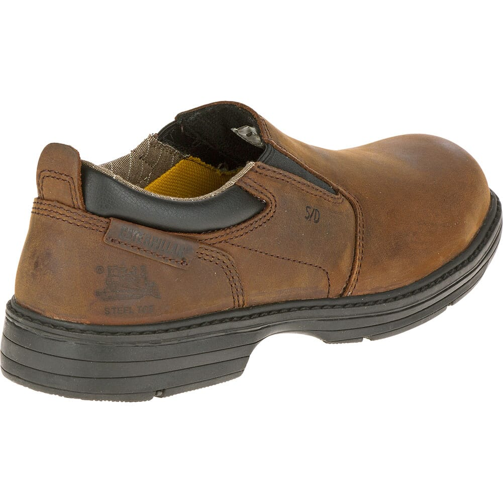 Caterpillar Men's Conclude Safety Shoes - Dark Brown