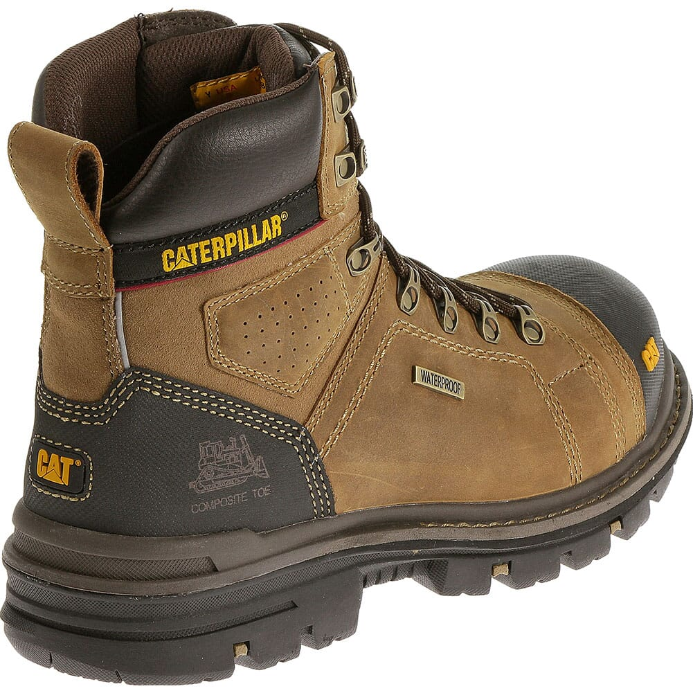 Caterpillar Men's Hauler WP Safety Boots - Dark Beige