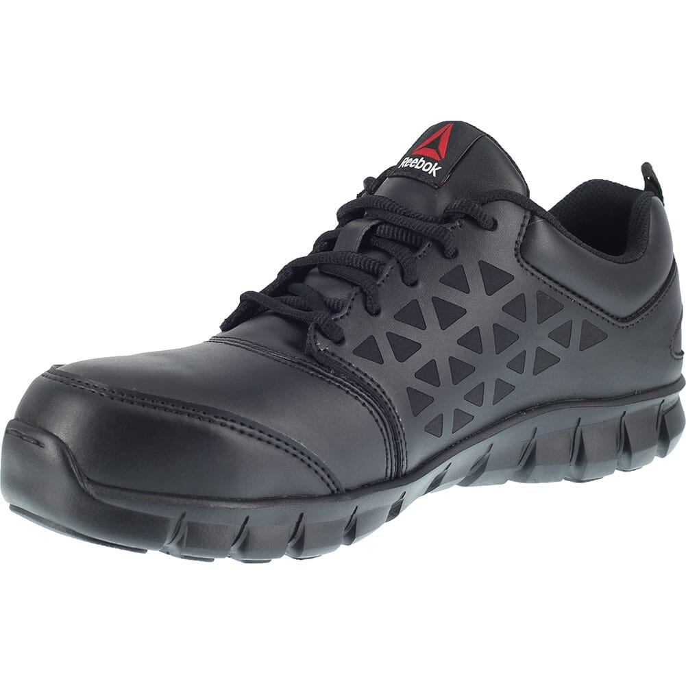 Reebok Women's Sublite EH Safety Shoes - Black