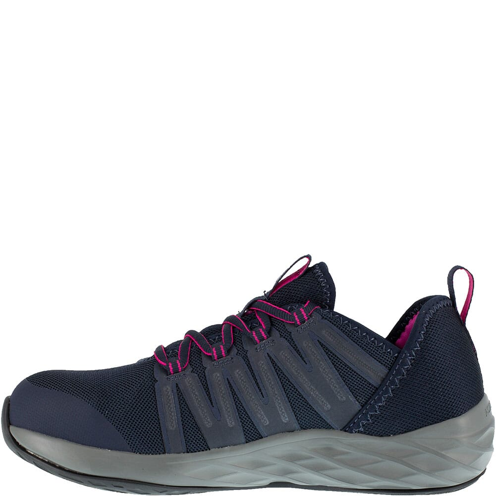 Reebok Women's Astroride Safety Shoes - Dark Navy/Purple