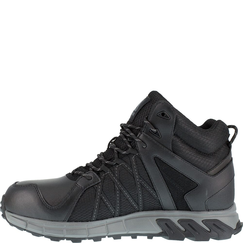 Reebok Men's Trailgrip Safety Boots - Black/Gray