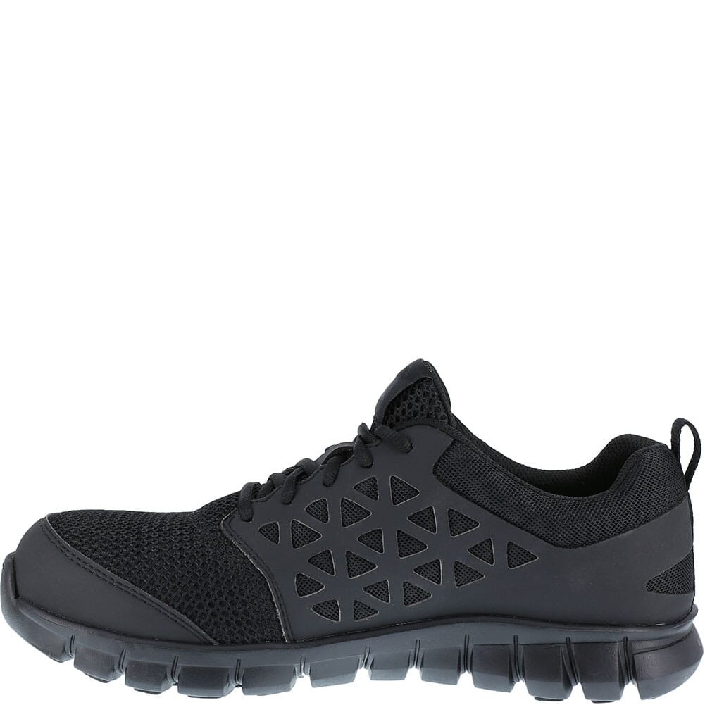 Reebok Men's Sublite Safety Shoes - Black