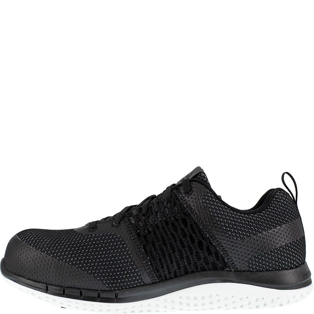 Reebok Men's Print Ultraknit Safety Shoes - Black/White