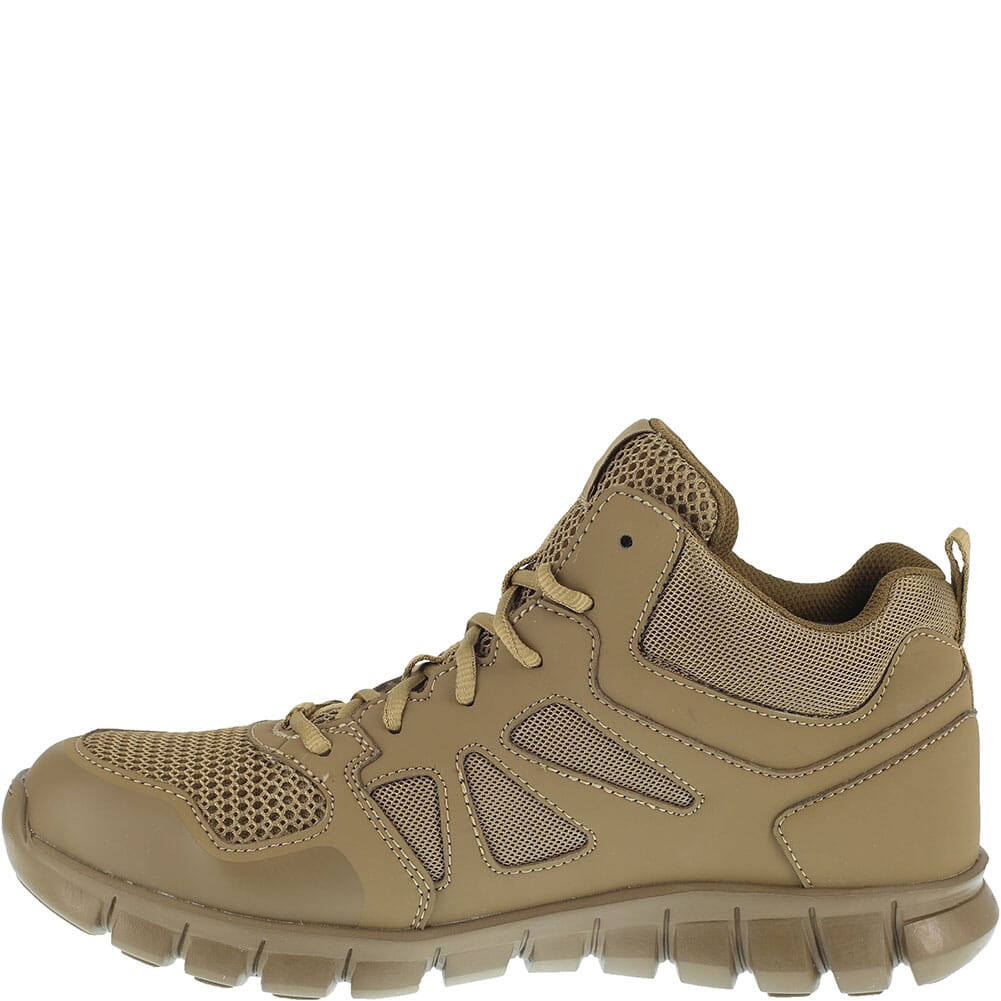 Reebok Men's Sublite Cushion Tactical Shoes - Coyote