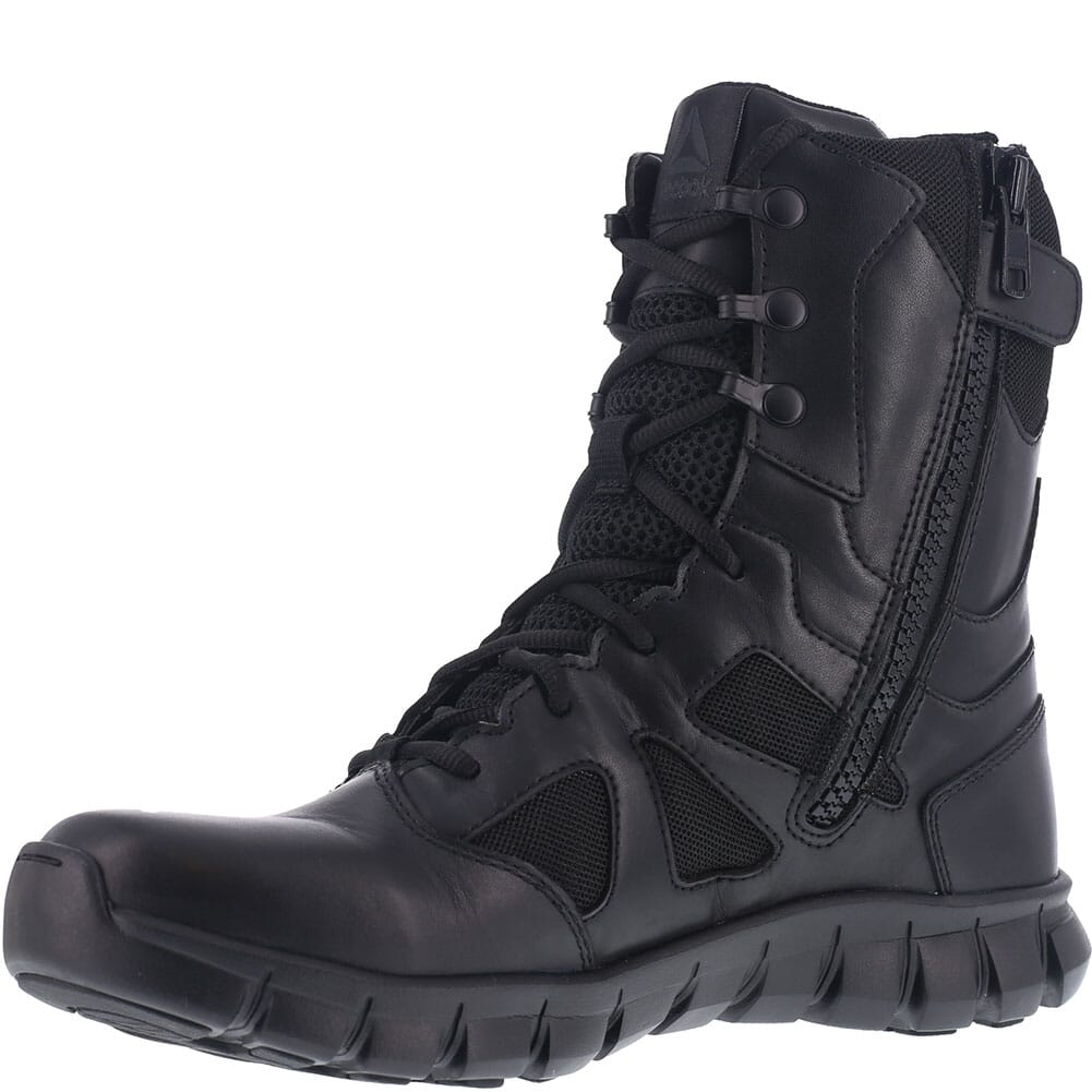 Reebok Men's Sublite Cushion Tactical Boots - Black