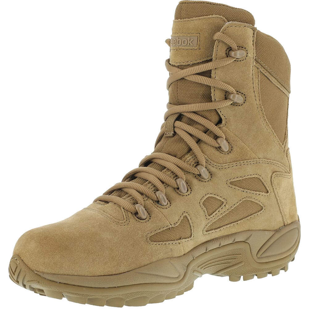 Reebok Women's Rapid Response RB Tactical Boots - Coyote