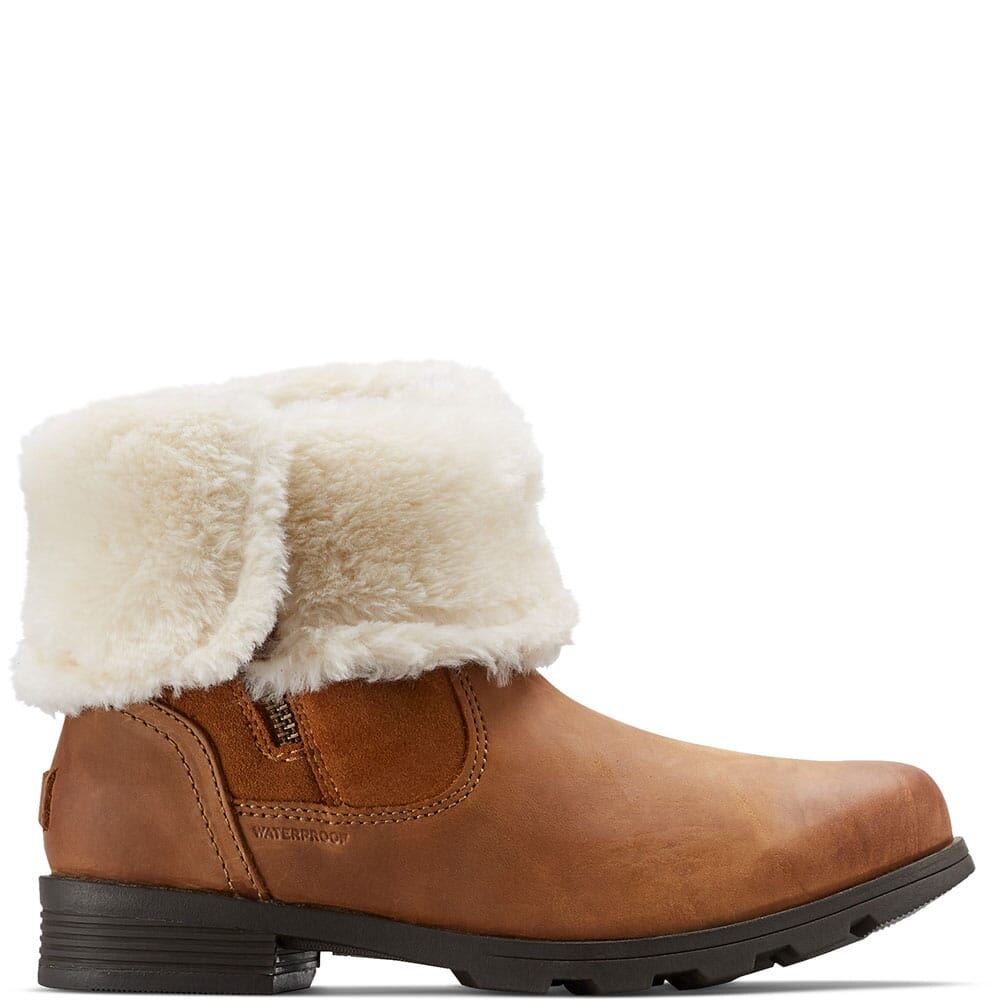 Sorel Women's Emelie Foldover Casual Boots - Camel Brown