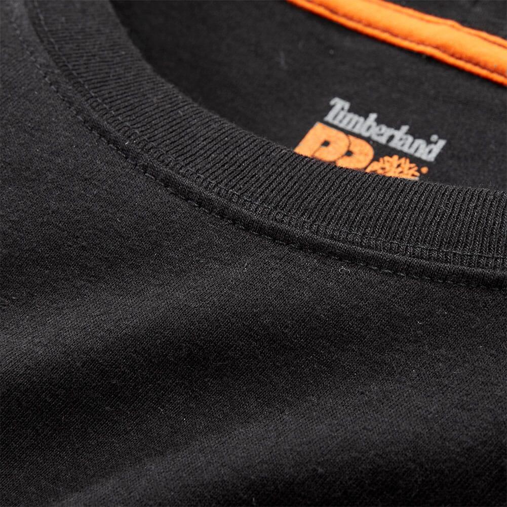 Timberland Pro Men's Long Sleeve Base Plate Wicking T-Shirt - Black
