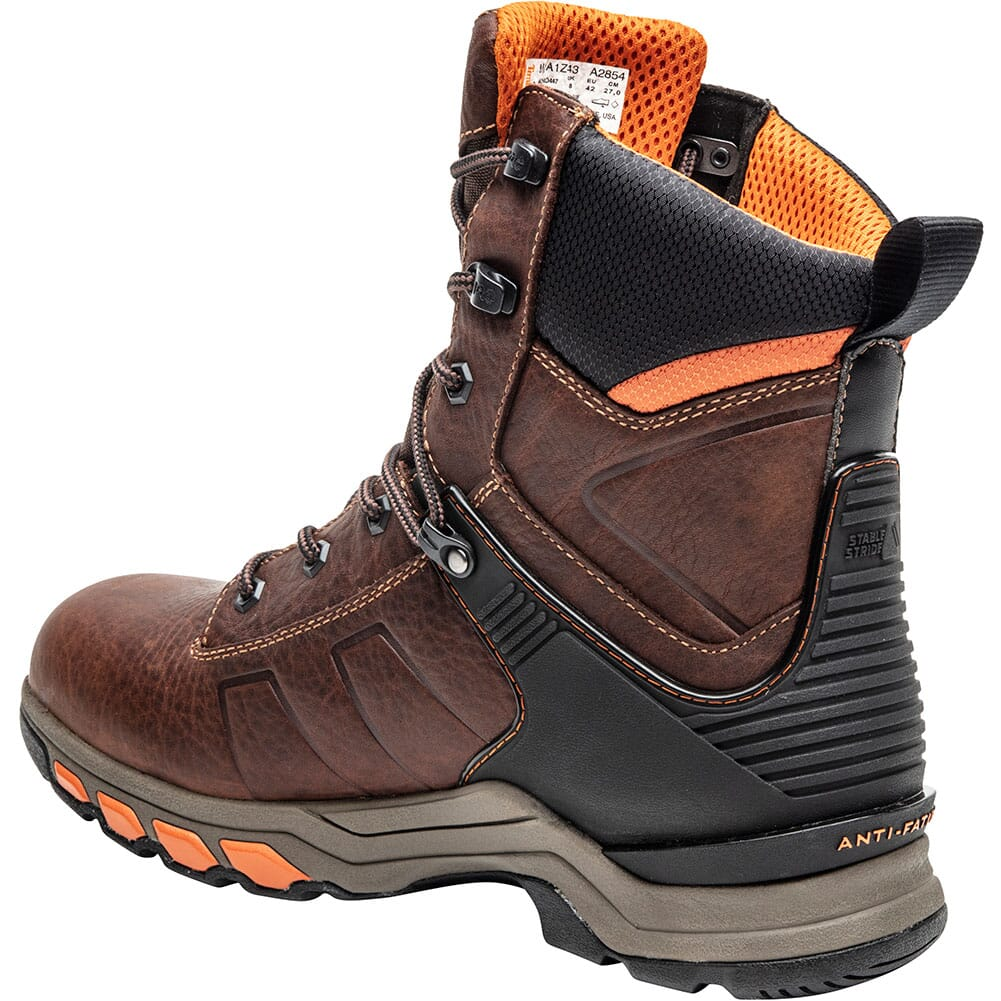 A1Z43214 Timberland Pro Men's Hypercharge Work Boots - Red Brown