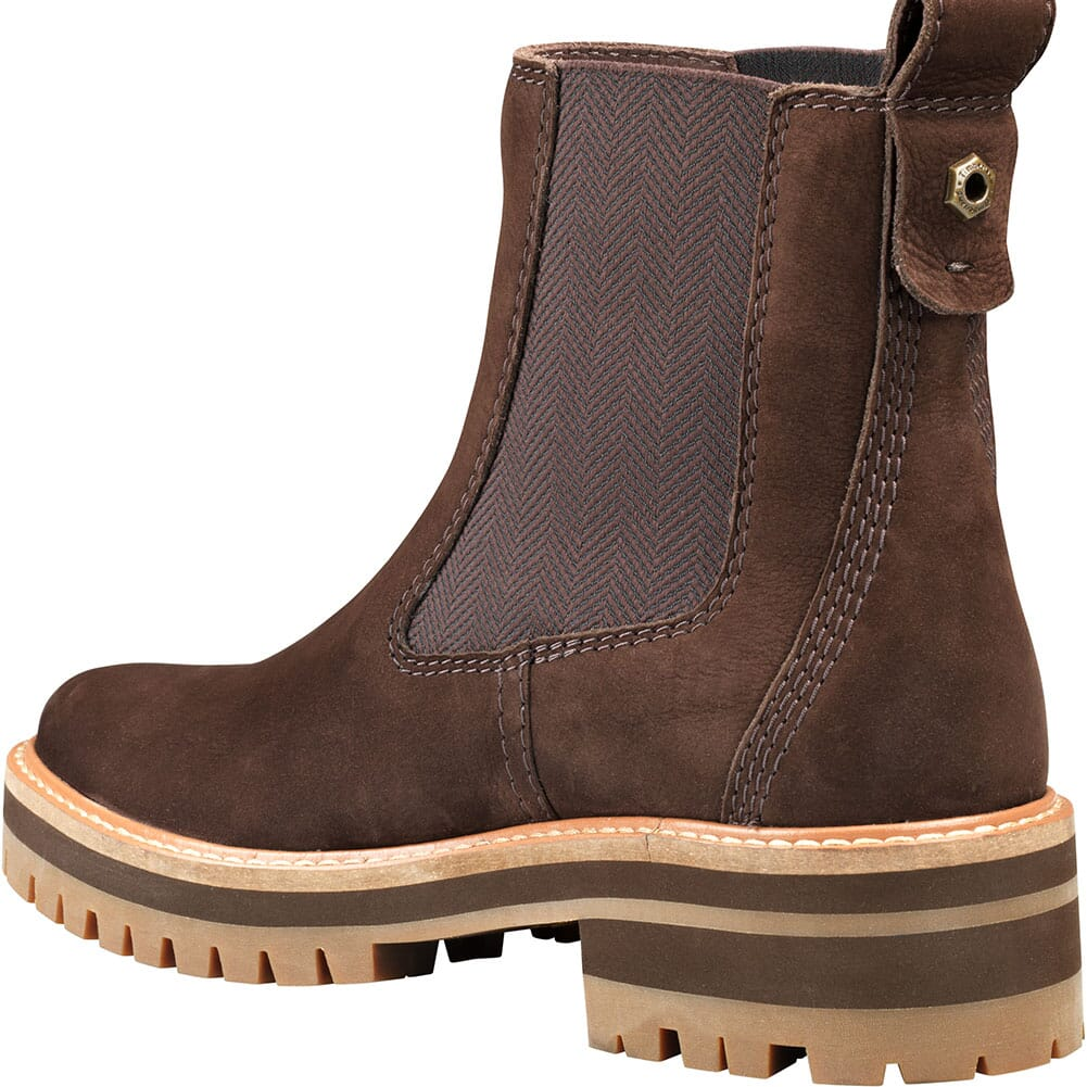 Timberland Women's Courmayeur Valley Chelsea Boots - Dark Brown