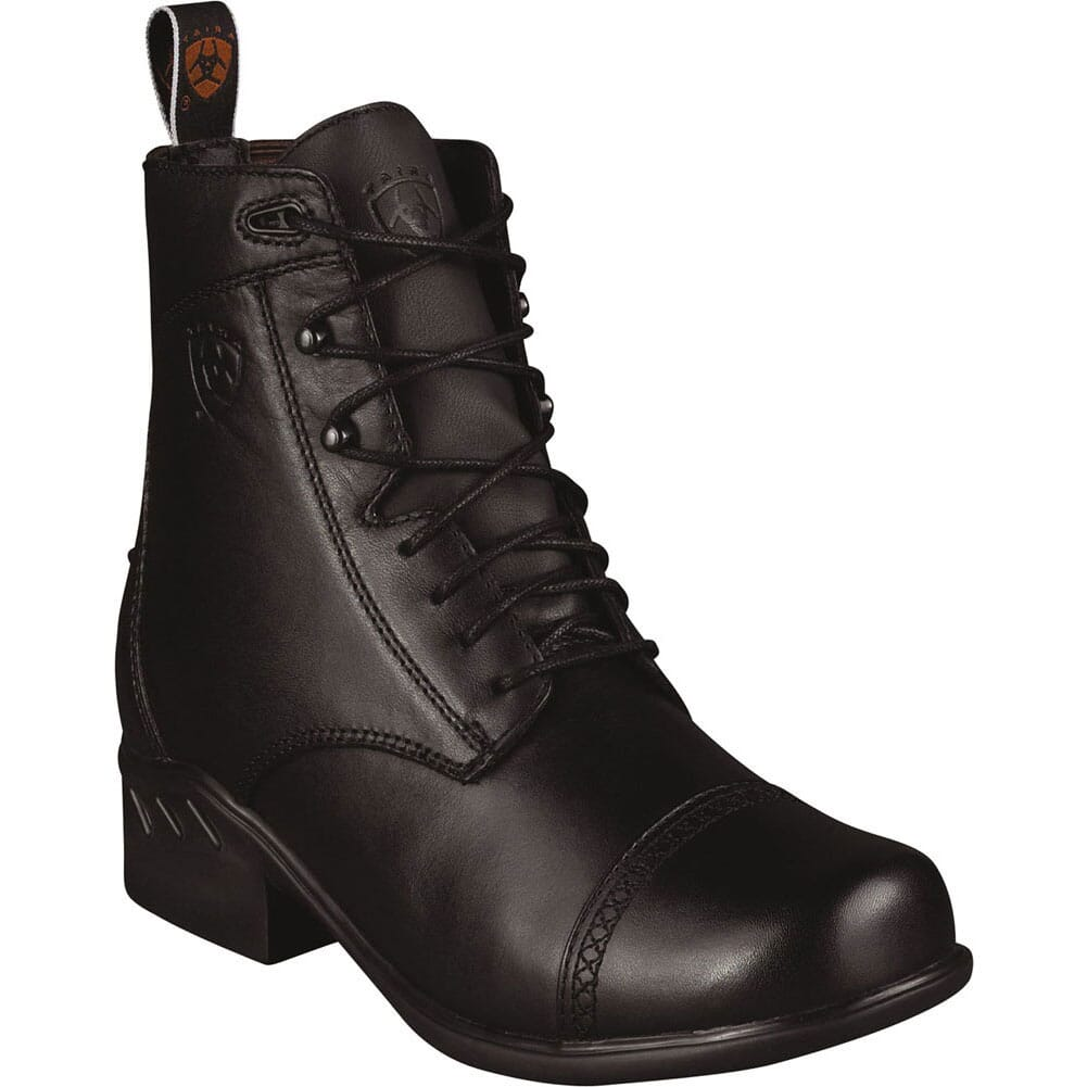 Image for Ariat Women's Heritage Paddock Round Toe Equestrian Boots - Black from elliottsboots