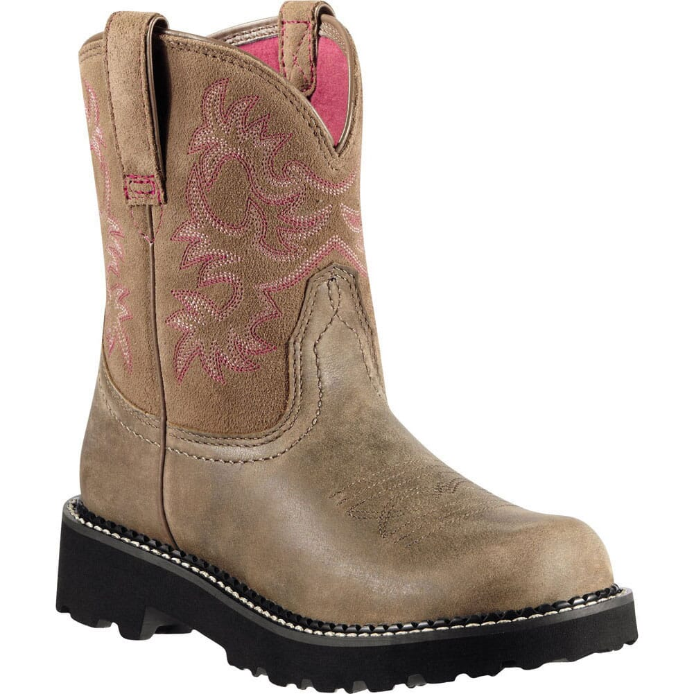 Image for Ariat Women's Fatbaby Western Boots - Brown Bomber from elliottsboots