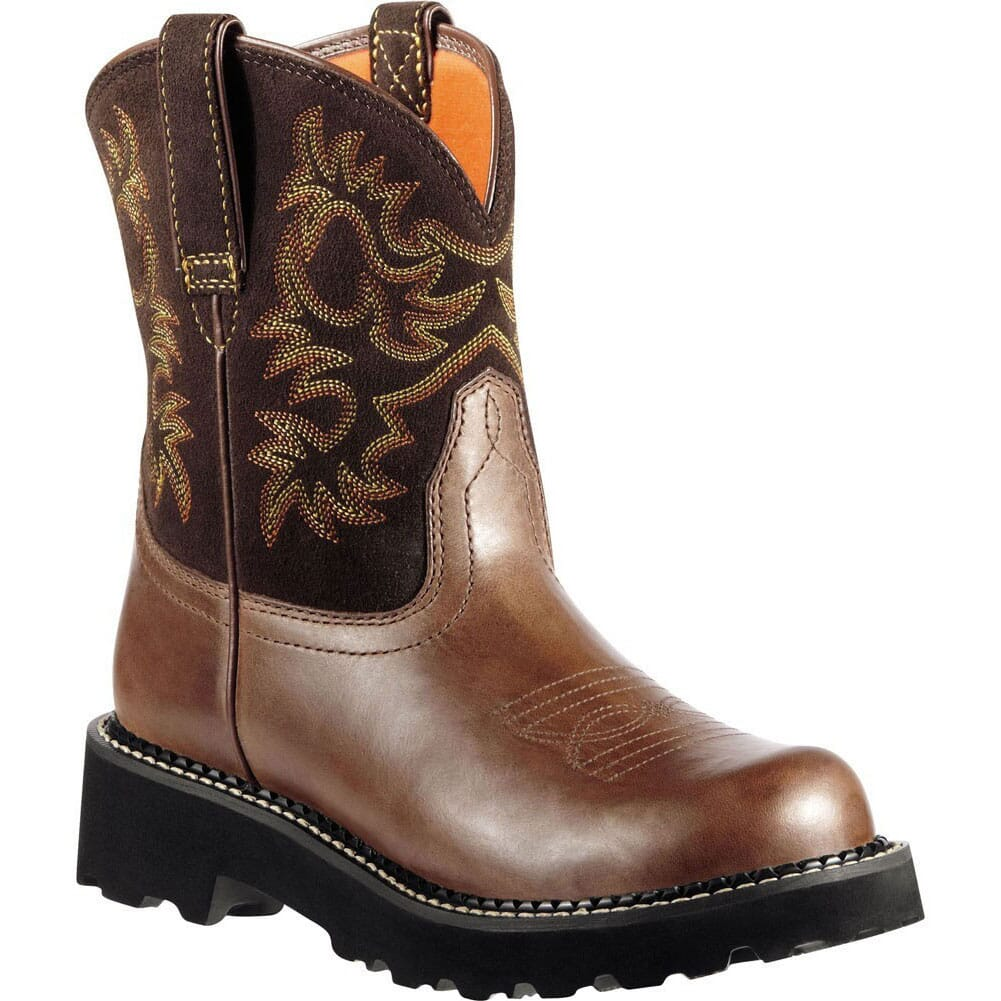 Image for Ariat Women's Fatbaby Western Boots - Brownie from bootbay