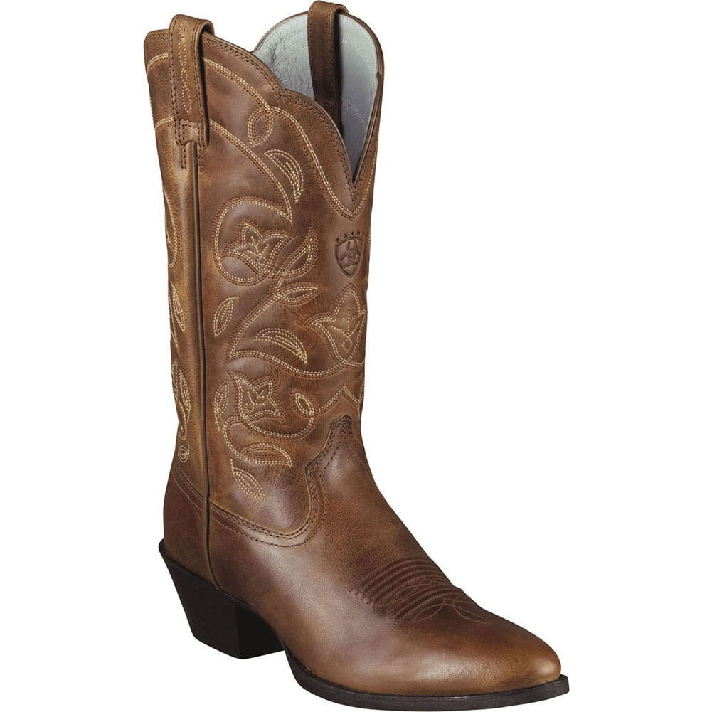 Image for Ariat Women's Heritage Western Boots - Russet Rebel from elliottsboots