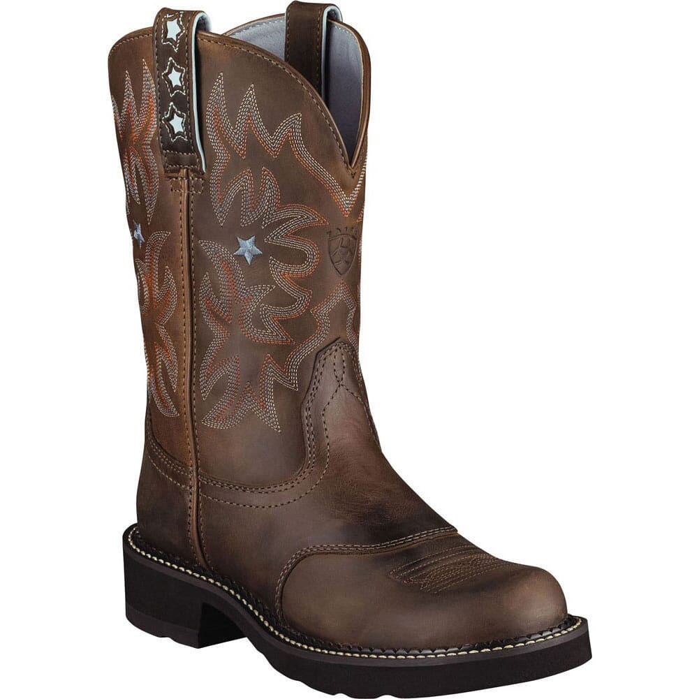 Image for Ariat Women's Fatbaby ProBaby Western Boots - Brown from elliottsboots