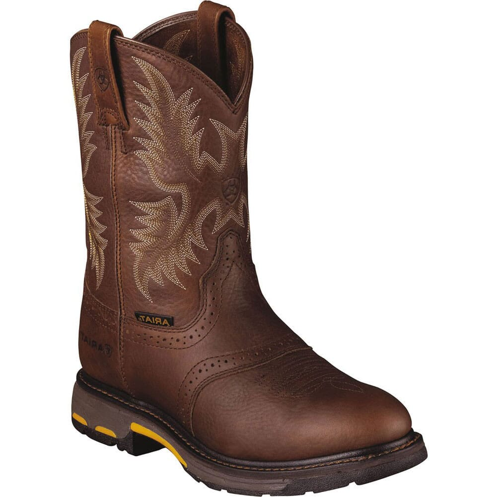 Image for Ariat Men's Workhog Work ATS Max Boots - Dark Copper from bootbay