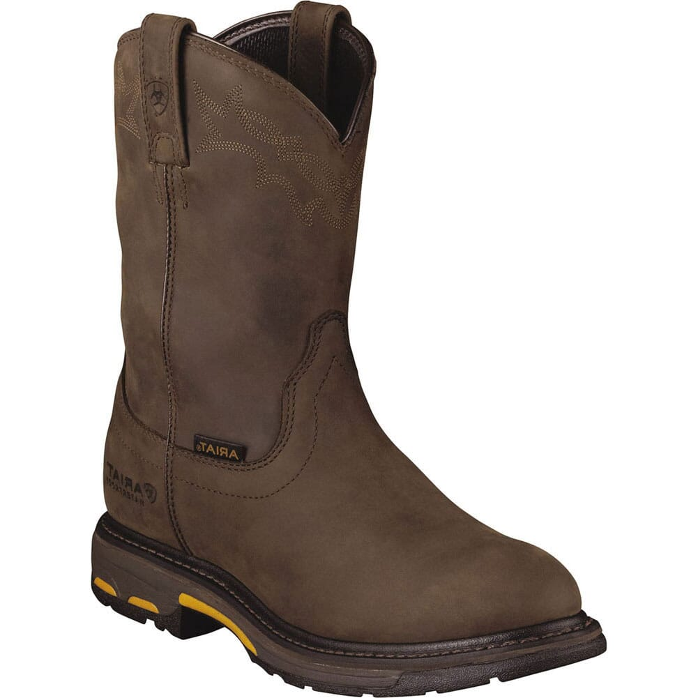 Image for Ariat Men's Workhog H2O Work Boots - Brown from bootbay